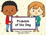 EngageNY Application Problems Module 1 First Grade