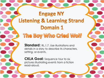 EngageNY Domain 1 The Boy Who Cried Wolf