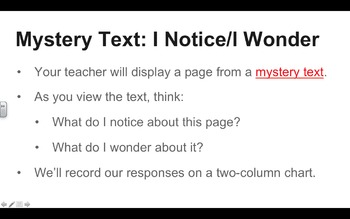 EngageNY ELA PowerPoint Presentations, Grade 5, Module 2A, Unit 3, Lessons 1-15