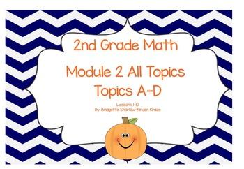 EngageNY Eureka 2nd Grade Math Module 2 All Topics (A-D) L