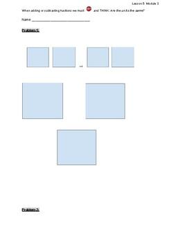 EngageNY Eureka 5th Grade Math Lesson 5 Module 3 Classwork