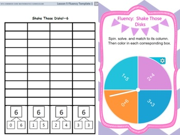 EngageNY Eureka First Grade Math Module 1  All Topics Lessons 1-39
