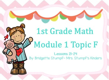 EngageNY Eureka First Grade Math Module 1 Topic (F) Lessons 21-24