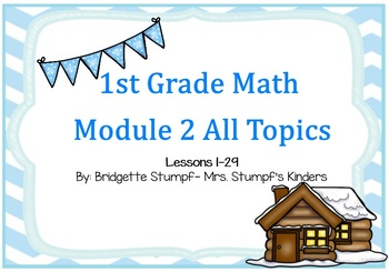 EngageNY Eureka First Grade Math Module 2  All Topics Lessons 1-29