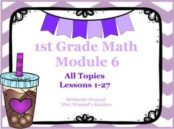 EngageNY Eureka First Grade Math Module 6 All Lessons 1-27