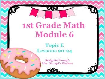 EngageNY Eureka First Grade Math Module 6 Topic E Lessons 20-24