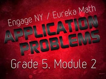 EngageNY / Eureka Grade 5 Math Module 2 Application Problems