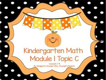 SMARTBOARD EngageNY Eureka Kindergarten Math Module 1 Topic (C) Lessons 7-11