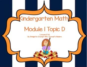 SMARTBOARD EngageNY Eureka Kindergarten Math Module 1 Topi