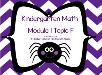 SMARTBOARD EngageNY Eureka Kindergarten Math Module 1 Topic (F) Lessons 23-28