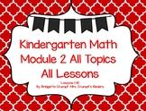 SMARTBOAEngageNY Eureka Kindergarten Math Module 2 All Topics (A-C) Lessons 1-10