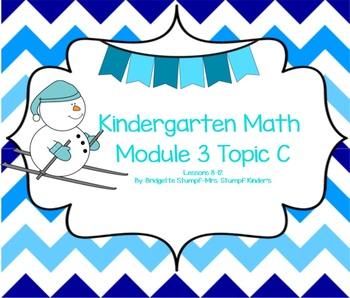 SMARTBOARD EngageNY Eureka Kindergarten Math Module 3 Topic (C) Lessons 8-12