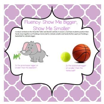 SMARTBOARD EngageNY Eureka Kindergarten Math Module 3 Topic (E) Lessons 16-19
