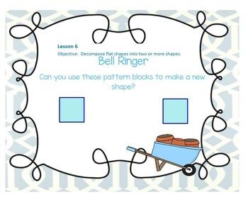 SMART EngageNY Eureka Kindergarten Math Module 6 (A-B) All Topics Lessons 1-8