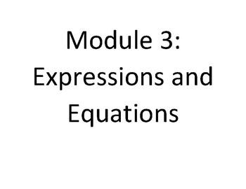 EngageNY - Eureka Math 7th Grade Module 3 Word Wall