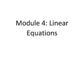 EngageNY - Eureka Math 8th Grade Module 4 Word Wall
