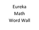 EngageNY - Eureka Math 8th Grade Module 5 Word Wall