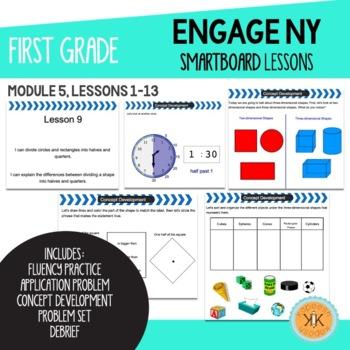 EngageNY (Eureka Math) First Grade SMARTBoard Lessons Module 5