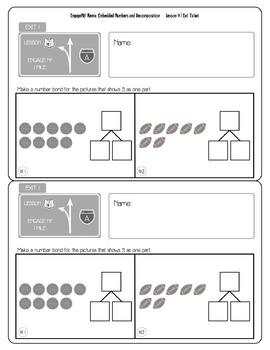 EngageNY/Eureka Math: Grade 1 - Module 1 / Topic A / Lesson 1 REMIX