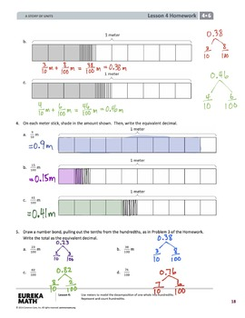 EngageNY (Eureka Math) Grade 4 Module 6 Answer Key
