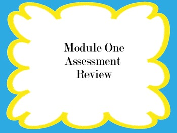 EngageNY/Eureka Math Grade 5 Module One Assessment Review