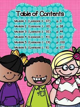 Engage NY Eureka Math Kindergarten Modules 1-6 Application Problems Strip Bundle