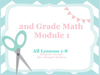 EngageNY Eureka Second Grade Math Module 1 All Lessons 1-8