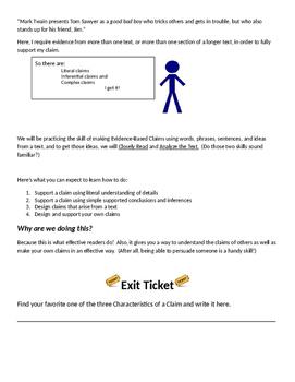 EngageNY;  Evidence_based Learning Unit (Cesar Chavez)