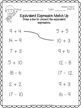 EngageNY Extra Practice Grade 1 Module 2 Topics B-D Lessons 12-29