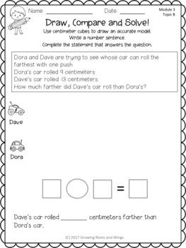 EngageNY Extra Practice Grade 1 Module 3