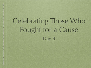 EngageNY Fighting for a Cause Day 9