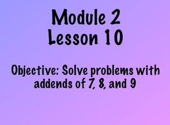 EngageNY First Grade Math Module 2 Lesson 10