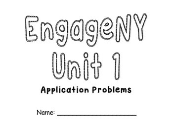 EngageNY First Grade Module 1 Application Problems