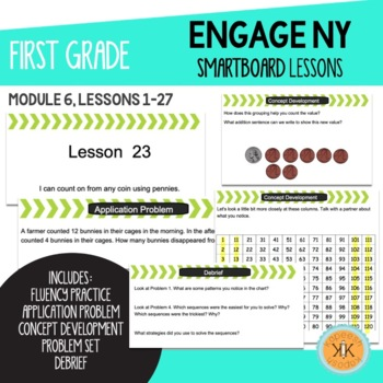 Engage NY First Grade SMARTBoard Lessons Module 6