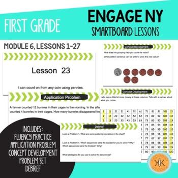 Engage NY (Eureka Math) First Grade SMARTBoard Lessons Module 6