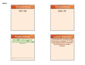 EngageNY GRADE 5 Module 1 Lesson 20