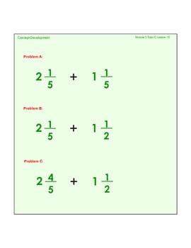 EngageNY GRADE 5 Module 3 Lesson 10