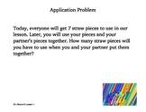 EngageNY - Math - Grade 1 - Module 5 - Lesson 1 Applicatio