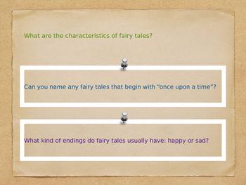 EngageNY Grade 2 Fairy Tales & Tall Tales Day 1 powerpoint