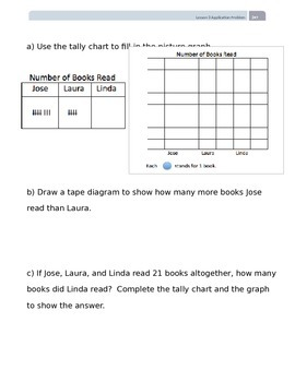 EngageNY Grade 2 Module 7 Application Problems