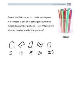 EngageNY Grade 2 Module 8 Application Problems