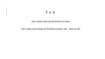 EngageNY Grade 3 Module 1 Lesson 12