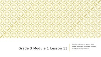 EngageNY Grade 3 Module 1 Lesson 13