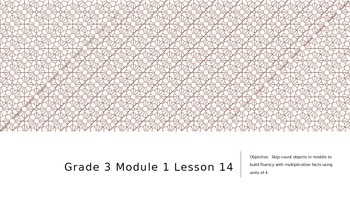 EngageNY Grade 3 Module 1 Lesson 14