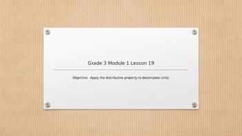 EngageNY Grade 3 Module 1 Lesson 19