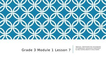 EngageNY Grade 3 Module 1 Lesson 7