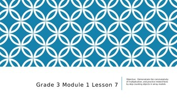EngageNY Grade 3 Module 1 Lesson 7