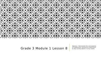 EngageNY Grade 3 Module 1 Lesson 8