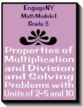 EngageNY Grade 3 Module 1 Math Smartboard Lessons for Interactive Whiteboards