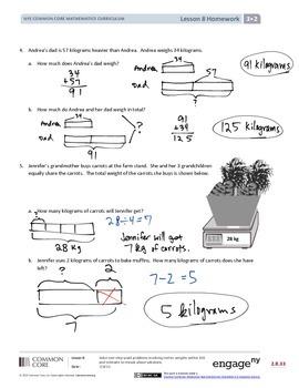 EngageNY (Eureka Math) Grade 3 Module 2 Answer Key